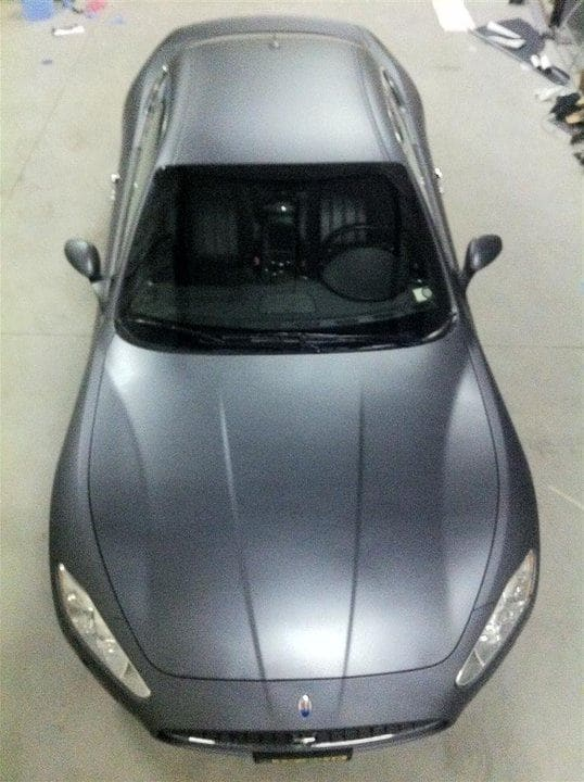 Maserati GT2 met Gunpowder Wrap, Carwrapping door Wrapmyride.nu Foto-nr:6071, ©2020