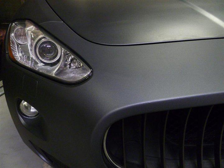 Maserati GT2 met Gunpowder Wrap, Carwrapping door Wrapmyride.nu Foto-nr:6075, ©2020
