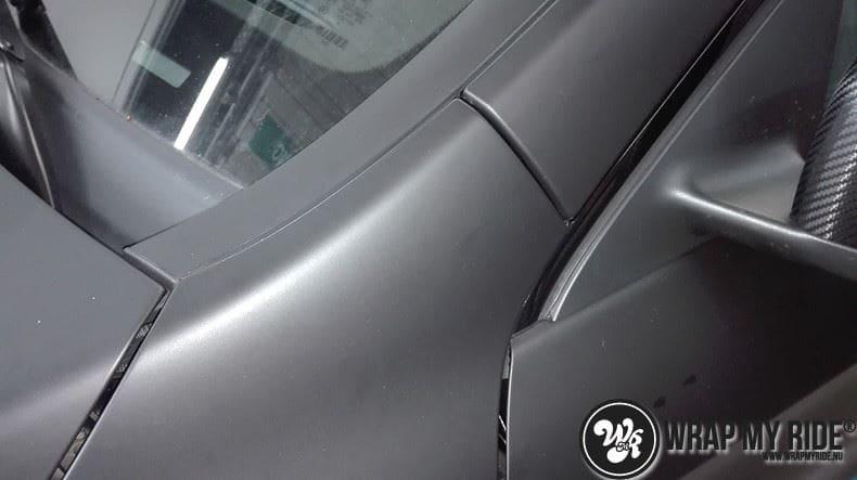 MB CLA mat zwart, Carwrapping door Wrapmyride.nu Foto-nr:8062, ©2020