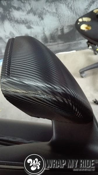 MB CLA mat zwart, Carwrapping door Wrapmyride.nu Foto-nr:8065, ©2020