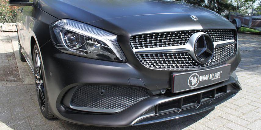 Mercedes A-klasse Satin Black