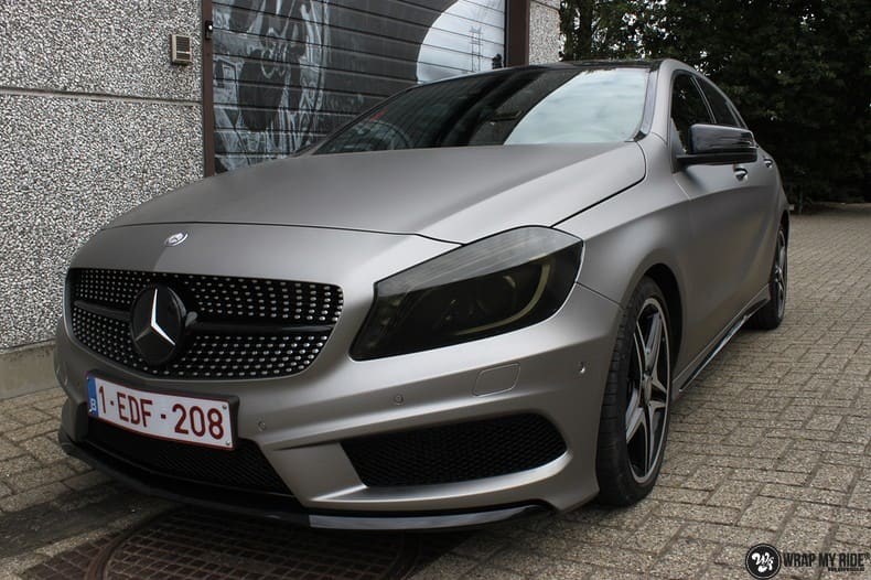 Mercedes A200 AMG, Carwrapping door Wrapmyride.nu Foto-nr:9905, ©2020