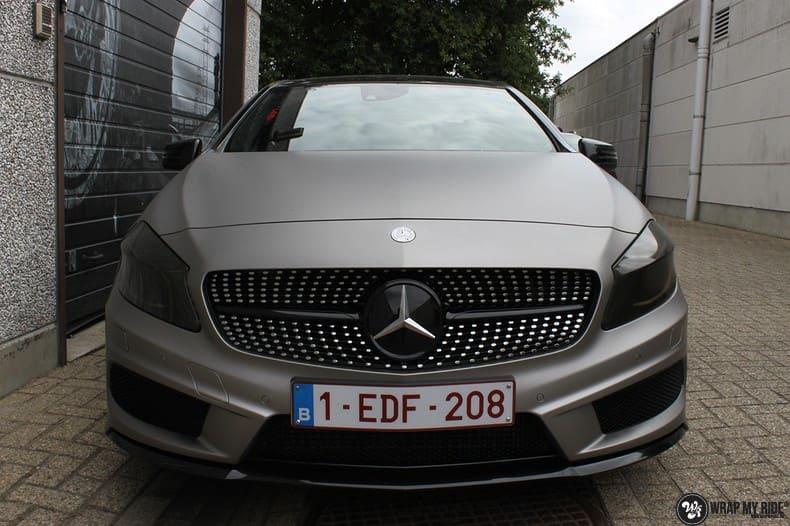 Mercedes A200 AMG, Carwrapping door Wrapmyride.nu Foto-nr:9904, ©2020