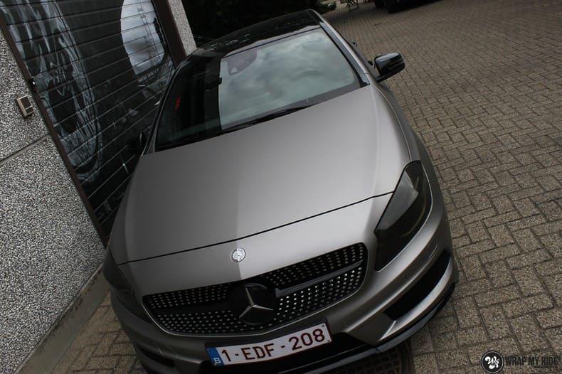 Mercedes A200 AMG, Carwrapping door Wrapmyride.nu Foto-nr:9903, ©2020