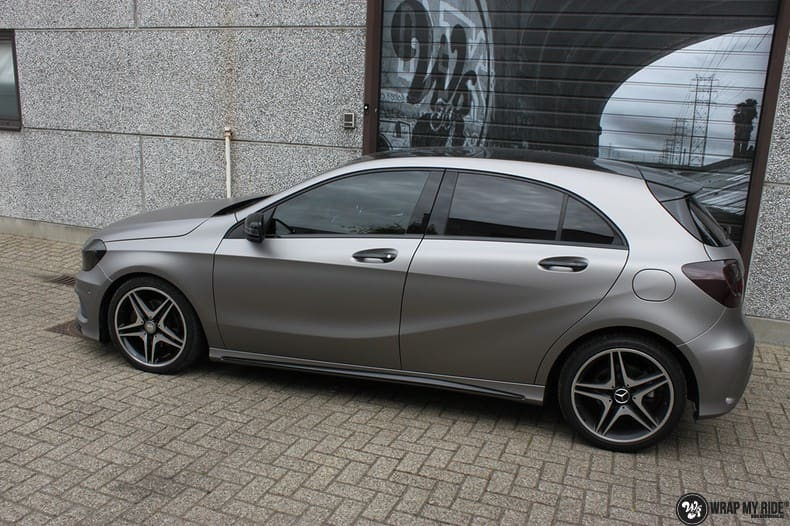 Mercedes A200 AMG, Carwrapping door Wrapmyride.nu Foto-nr:9895, ©2020