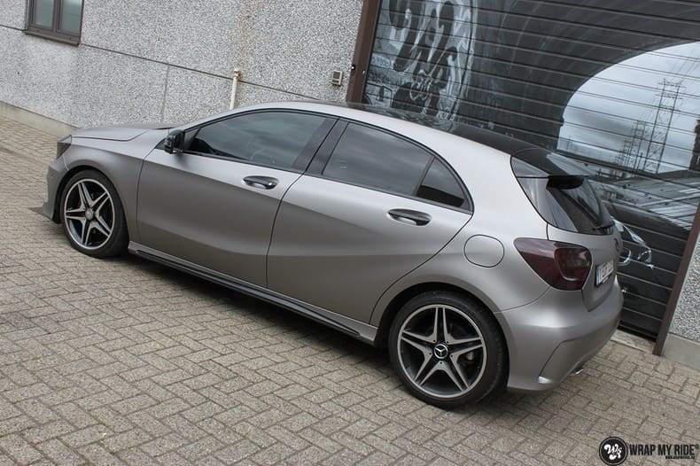 Mercedes A200 AMG, Carwrapping door Wrapmyride.nu Foto-nr:9894, ©2018
