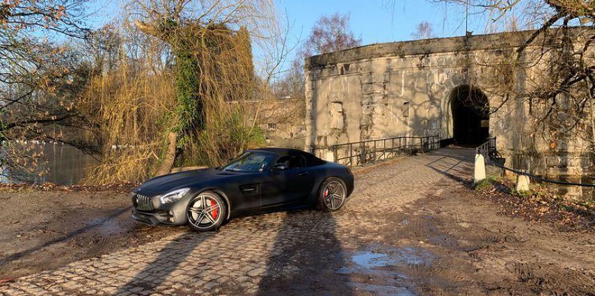 Mercedes AMG GTC Roadster Matt Deep Black