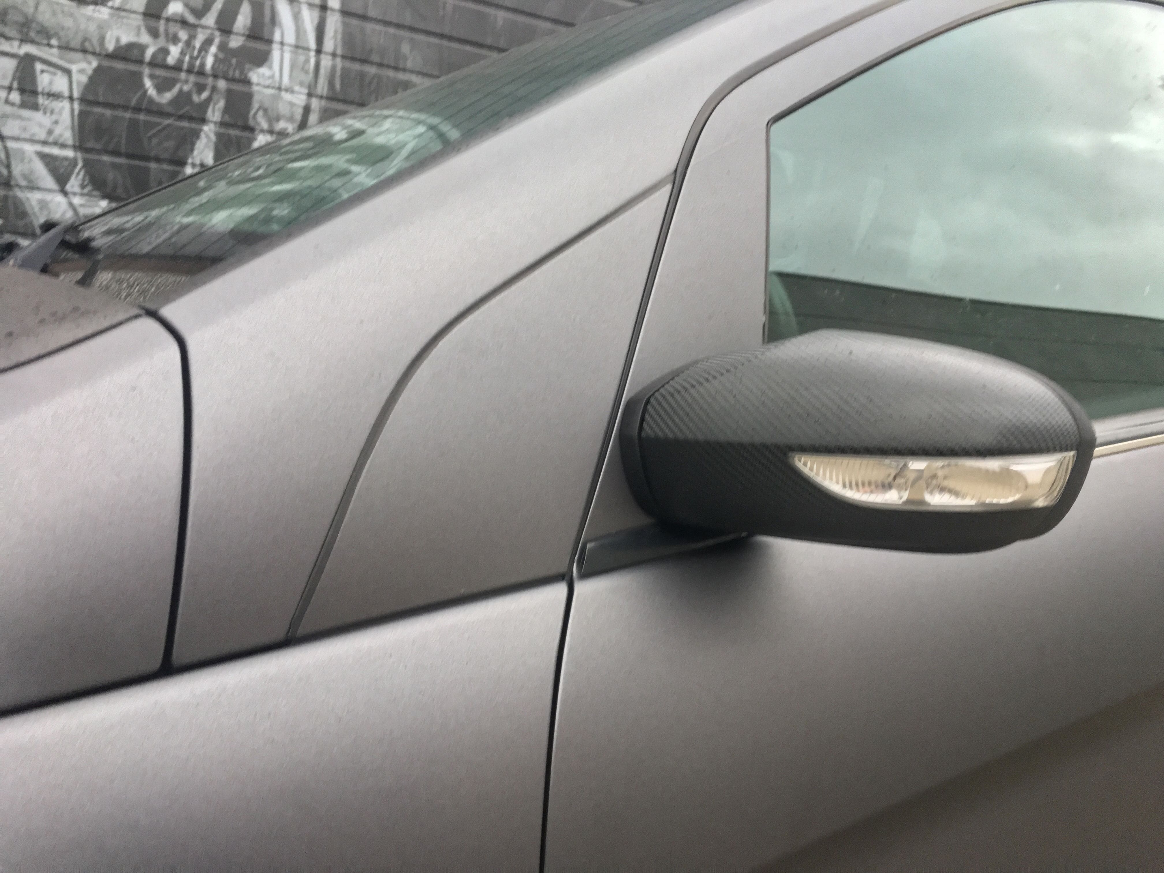 Mercedes B-klasse matte dark grey, Carwrapping door Wrapmyride.nu Foto-nr:9291, ©2020