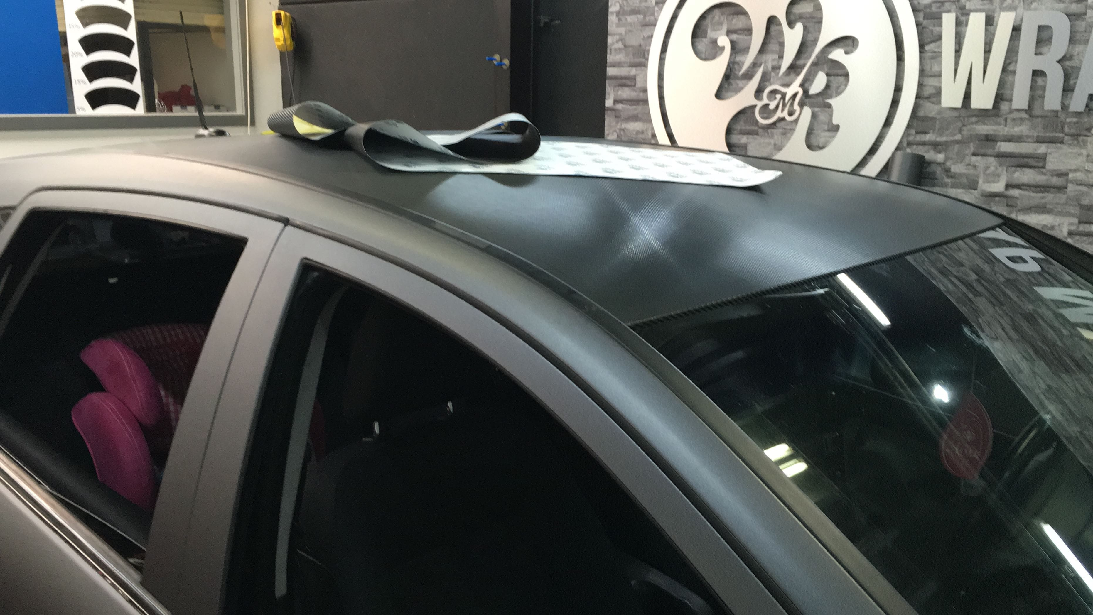 Mercedes B-klasse matte dark grey, Carwrapping door Wrapmyride.nu Foto-nr:9309, ©2021