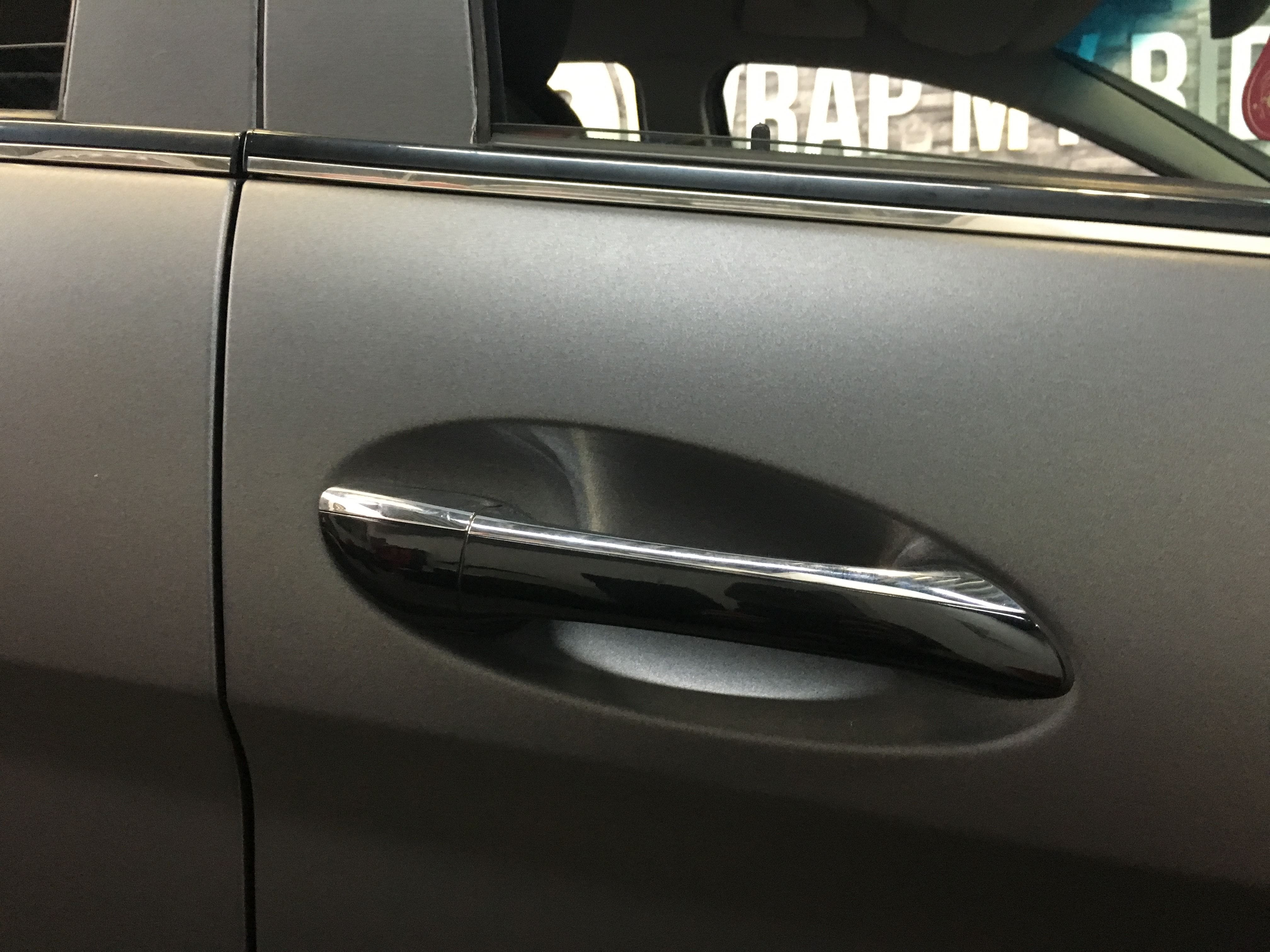 Mercedes B-klasse matte dark grey, Carwrapping door Wrapmyride.nu Foto-nr:9304, ©2021