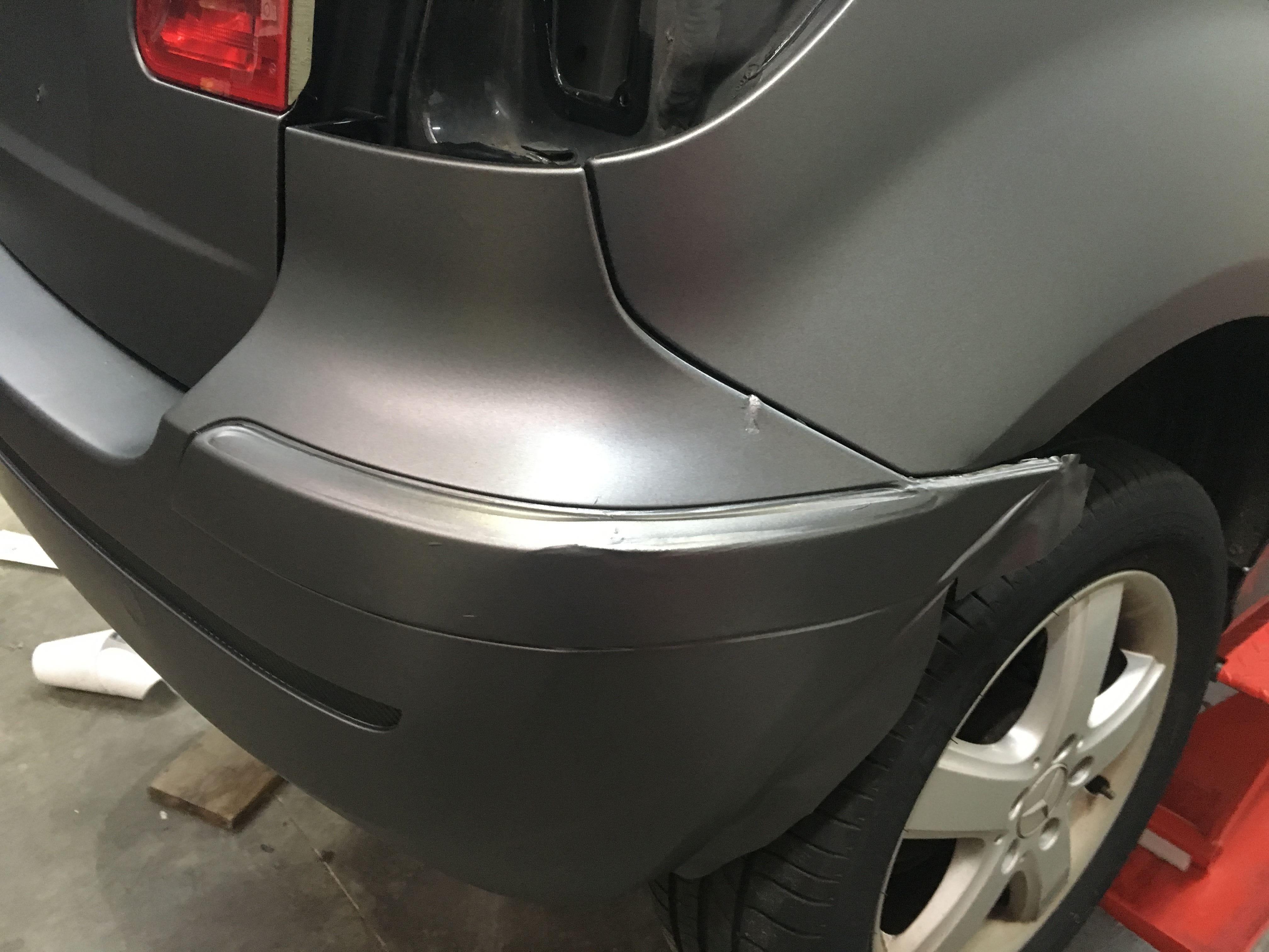 Mercedes B-klasse matte dark grey, Carwrapping door Wrapmyride.nu Foto-nr:9302, ©2020