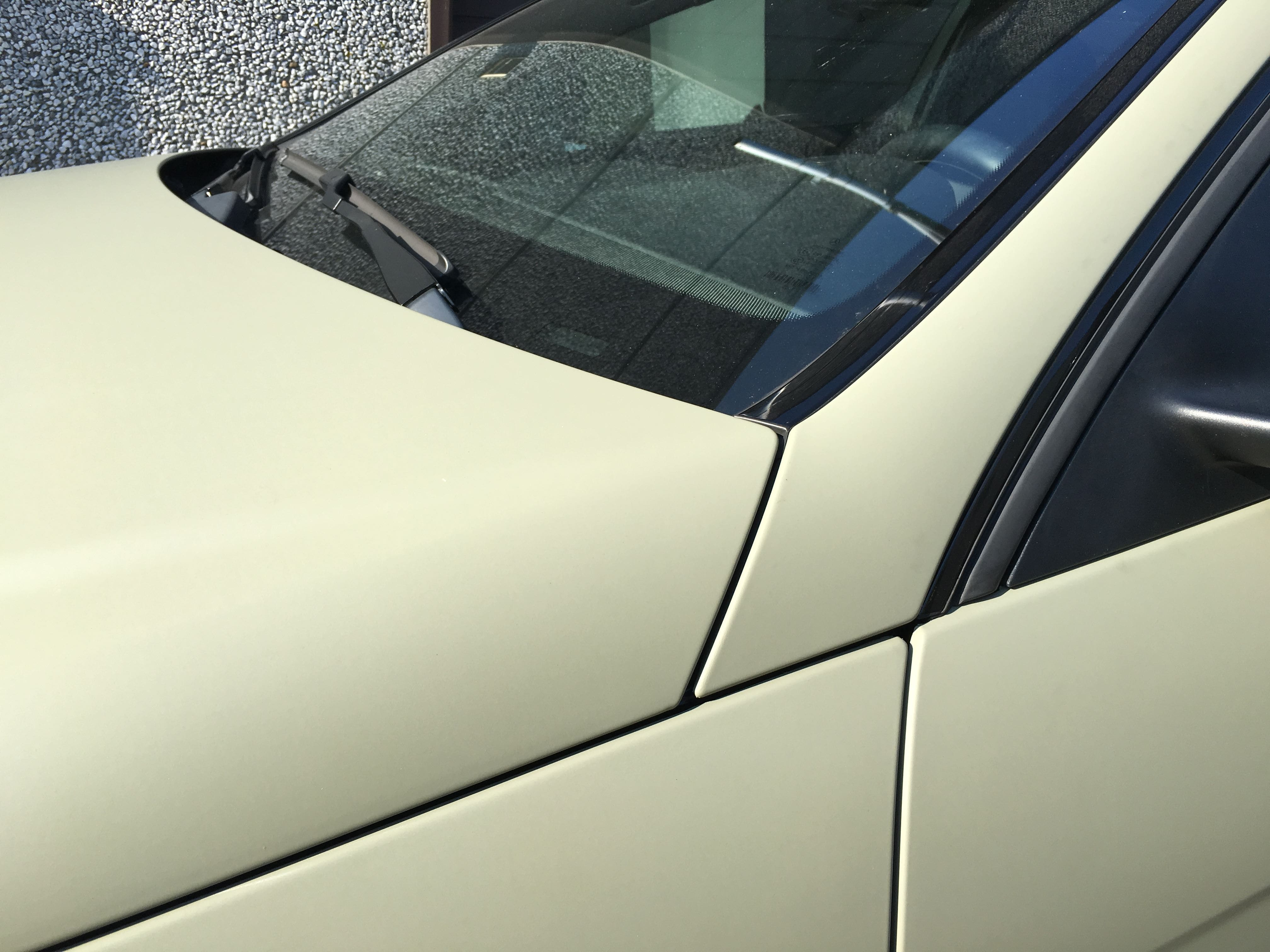 Mercedes C-Coupe matte khaki green, Carwrapping door Wrapmyride.nu Foto-nr:9169, ©2021