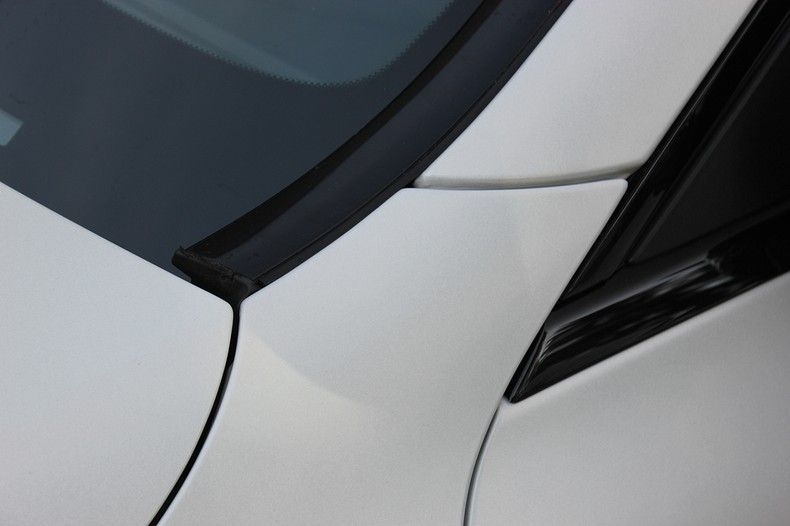 Mercedes C-coupe Satin ghost flip, Carwrapping door Wrapmyride.nu Foto-nr:11887, ©2021