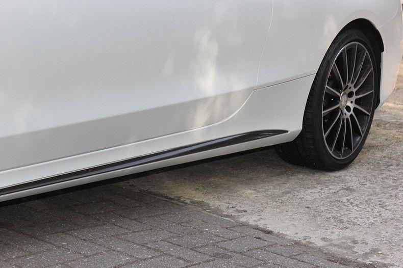 Mercedes C-coupe Satin ghost flip, Carwrapping door Wrapmyride.nu Foto-nr:11884, ©2021