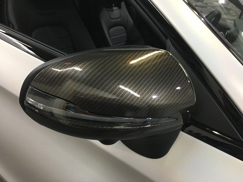 Mercedes C-coupe Satin ghost flip, Carwrapping door Wrapmyride.nu Foto-nr:11865, ©2021