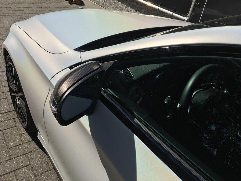 Mercedes C-coupe Satin ghost flip, Carwrapping door Wrapmyride.nu Foto-nr:11848, ©2021