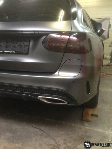 Mercedes C350e AMG, Carwrapping door Wrapmyride.nu Foto-nr:8649, ©2021