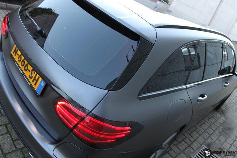Mercedes C350e AMG, Carwrapping door Wrapmyride.nu Foto-nr:8619, ©2021