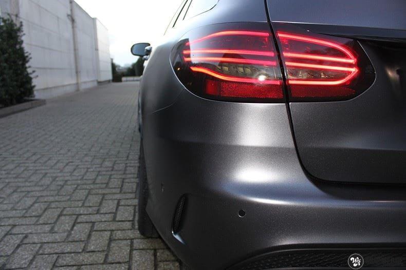 Mercedes C350e AMG, Carwrapping door Wrapmyride.nu Foto-nr:8618, ©2020