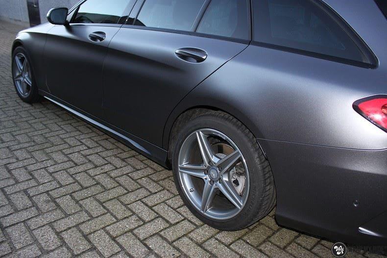Mercedes C350e AMG, Carwrapping door Wrapmyride.nu Foto-nr:8617, ©2020