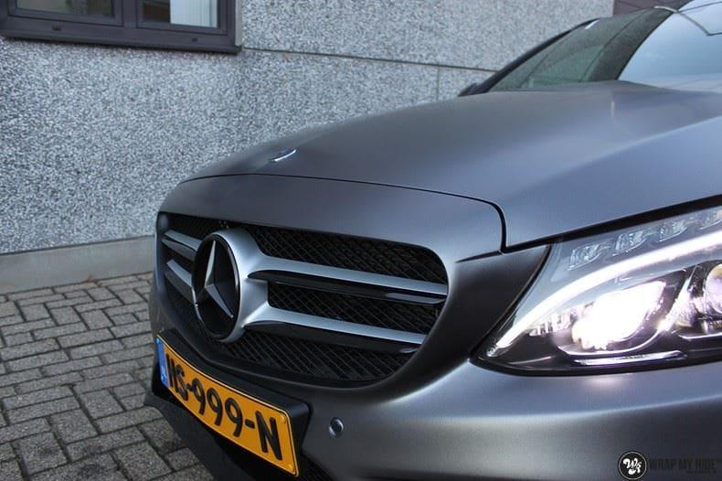 Mercedes C350e AMG, Carwrapping door Wrapmyride.nu Foto-nr:8615, ©2021