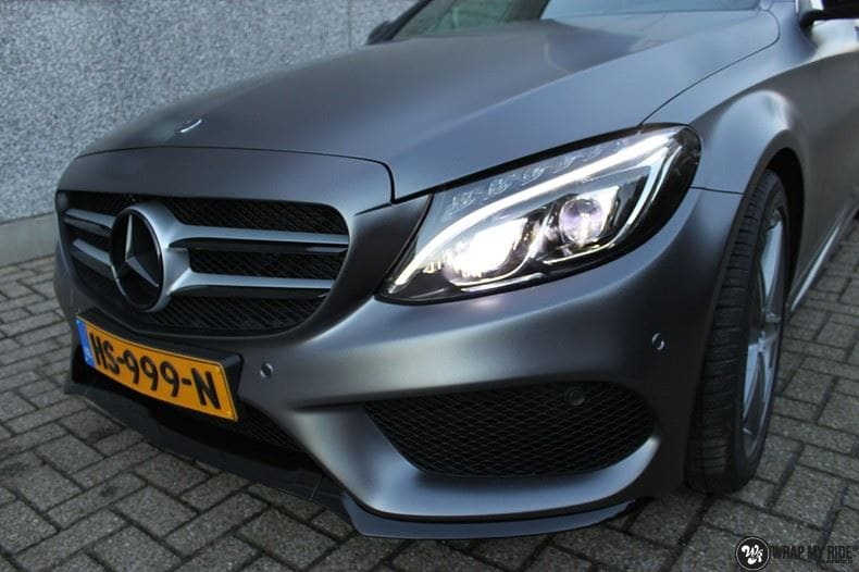 Mercedes C350e AMG, Carwrapping door Wrapmyride.nu Foto-nr:8614, ©2021