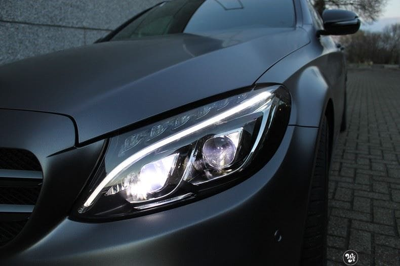 Mercedes C350e AMG, Carwrapping door Wrapmyride.nu Foto-nr:8612, ©2021
