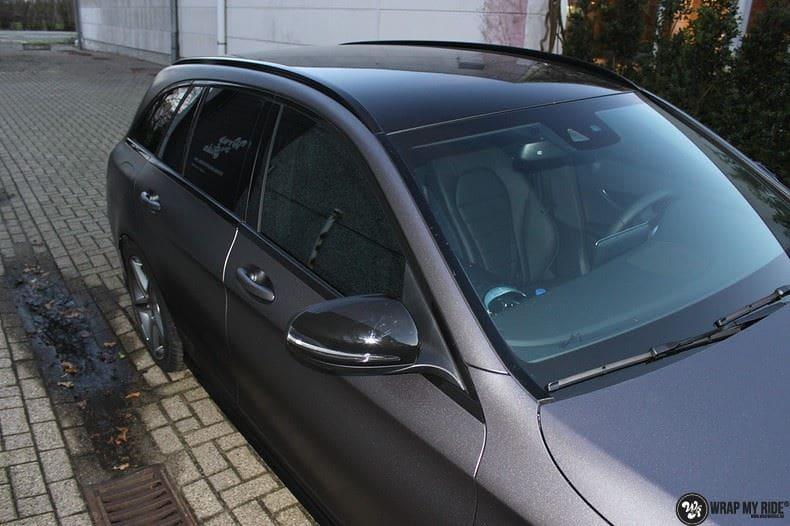 Mercedes C350e AMG, Carwrapping door Wrapmyride.nu Foto-nr:8610, ©2021