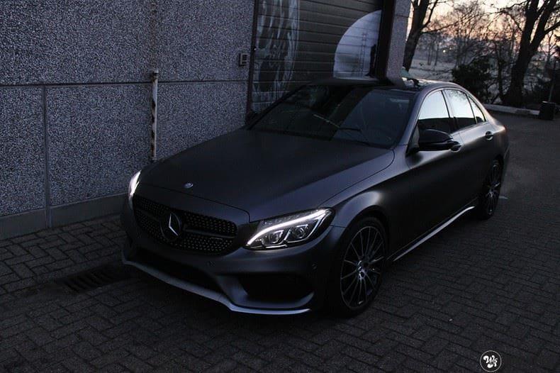 Mercedes C43 AMG, Carwrapping door Wrapmyride.nu Foto-nr:9645, ©2020