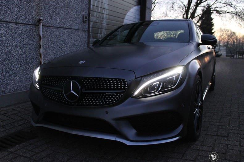 Mercedes C43 AMG, Carwrapping door Wrapmyride.nu Foto-nr:9646, ©2020