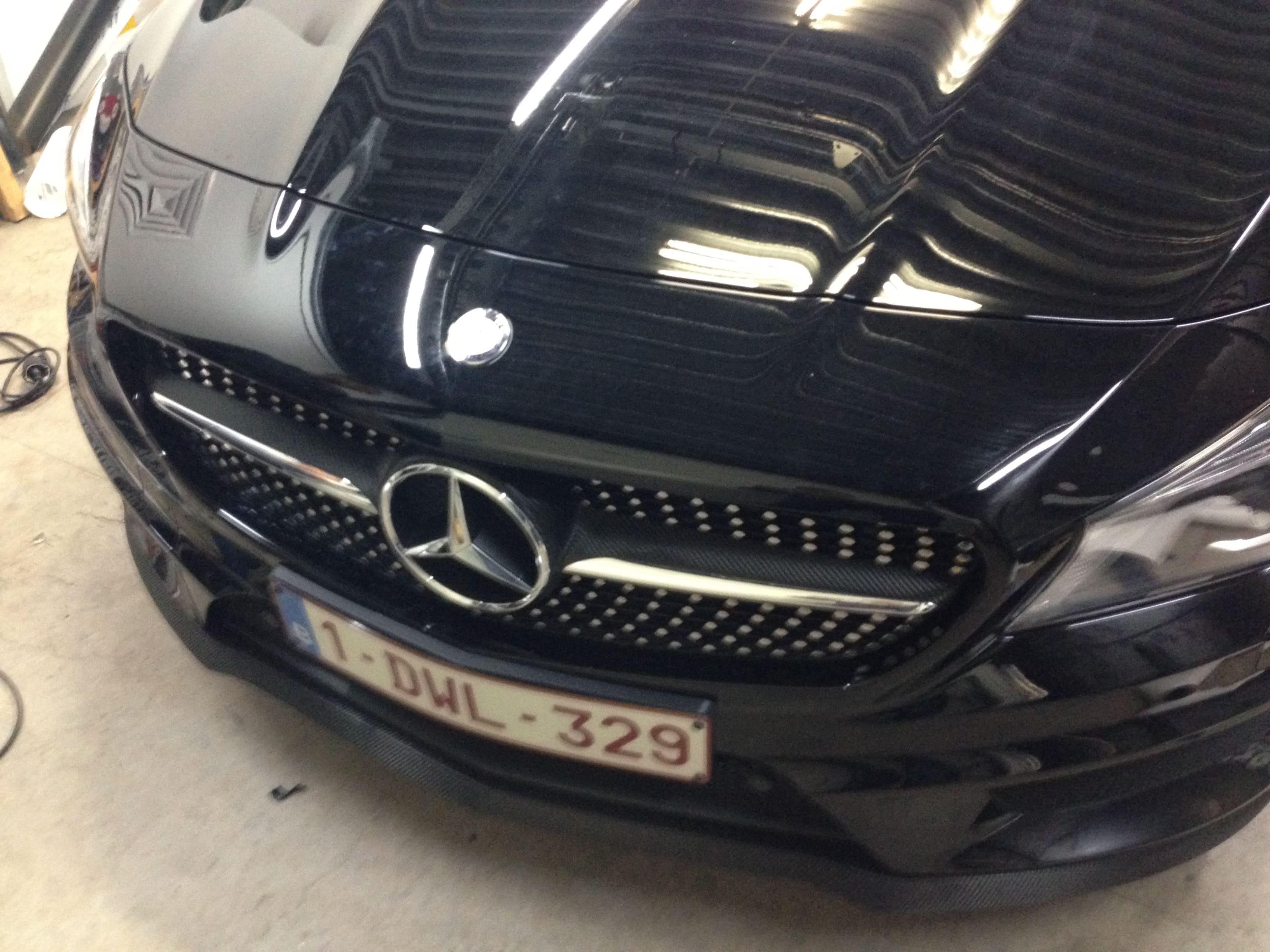 Mercedes CLA met Carbon Accenten, Carwrapping door Wrapmyride.nu Foto-nr:6093, ©2020
