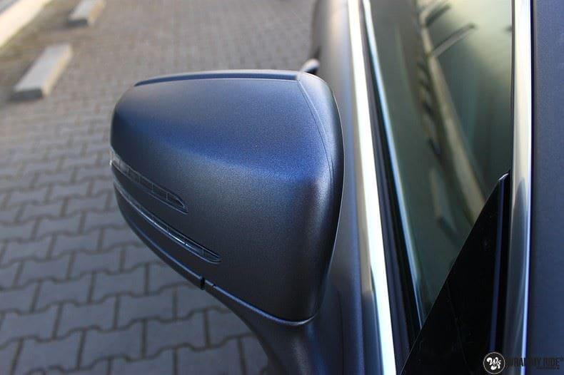 Mercedes CLS matte dark grey, Carwrapping door Wrapmyride.nu Foto-nr:8898, ©2021