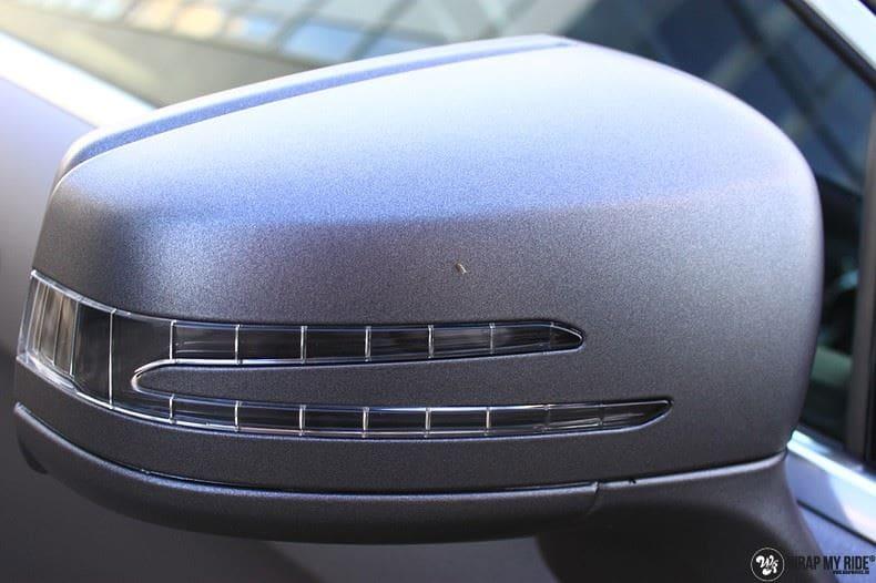 Mercedes CLS matte dark grey, Carwrapping door Wrapmyride.nu Foto-nr:8897, ©2021