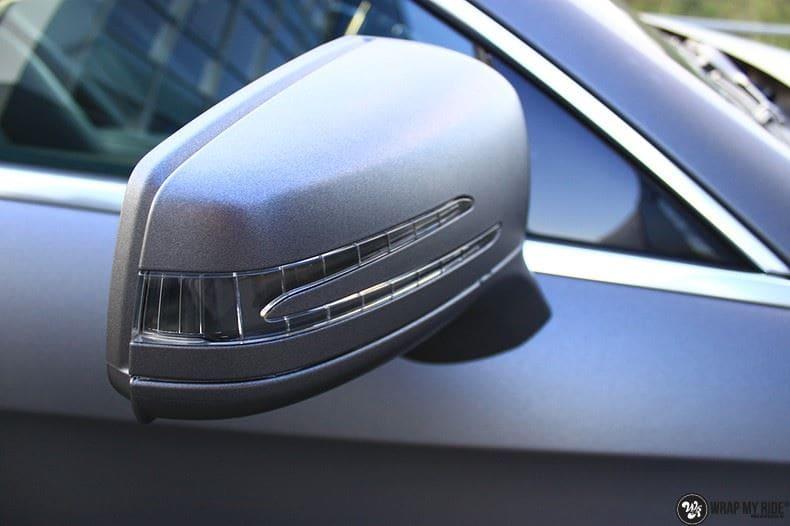 Mercedes CLS matte dark grey, Carwrapping door Wrapmyride.nu Foto-nr:8896, ©2021