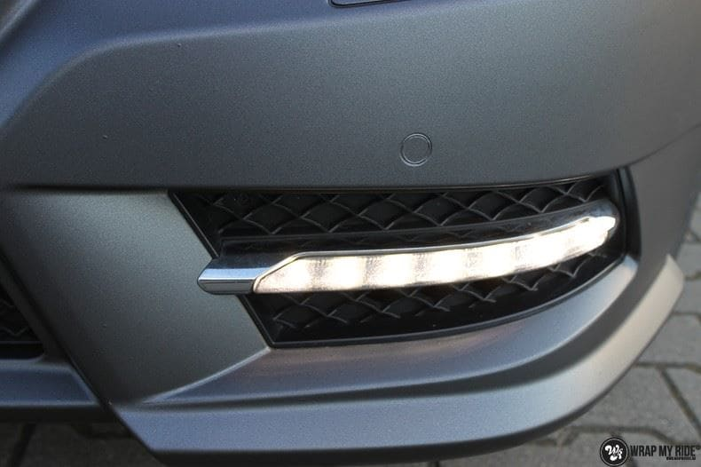 Mercedes CLS matte dark grey, Carwrapping door Wrapmyride.nu Foto-nr:8886, ©2020
