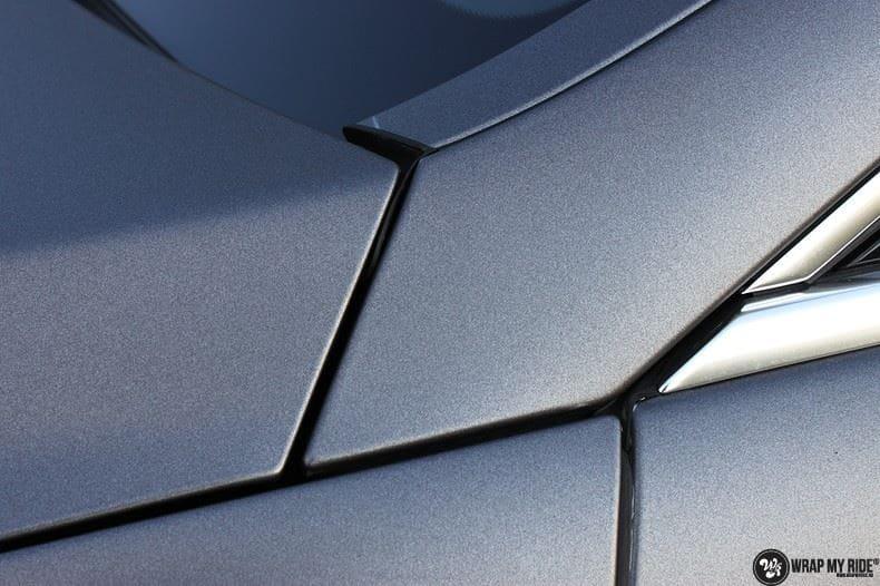Mercedes CLS matte dark grey, Carwrapping door Wrapmyride.nu Foto-nr:8884, ©2021
