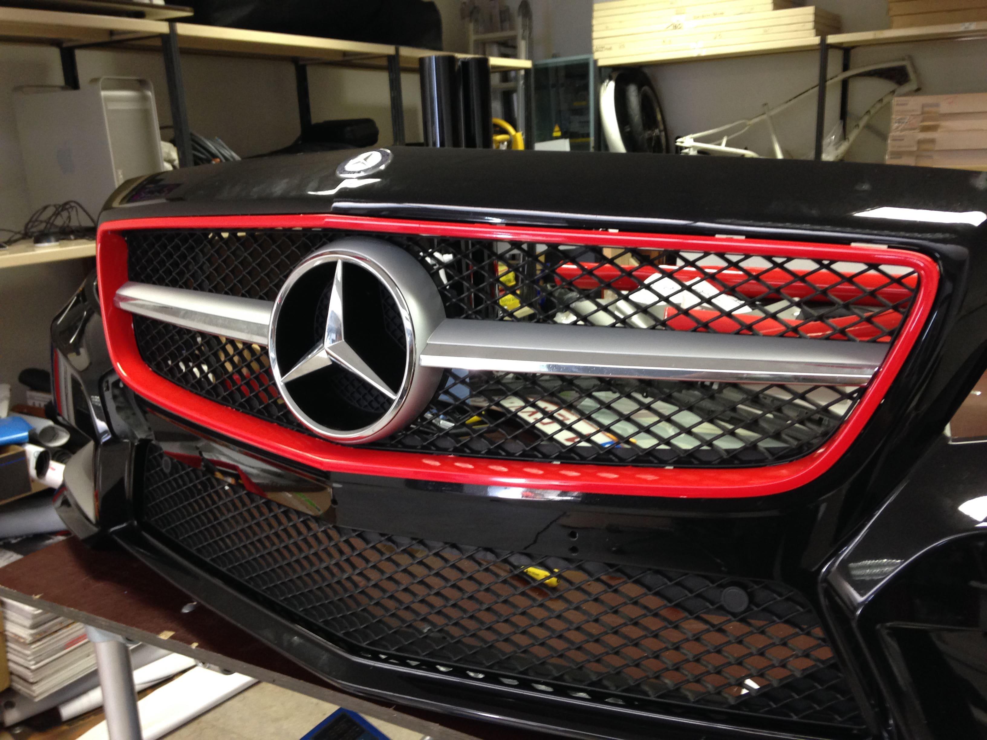 Mercedes CLS met Mat Grey Aluminium Wrap, Carwrapping door Wrapmyride.nu Foto-nr:6137, ©2020