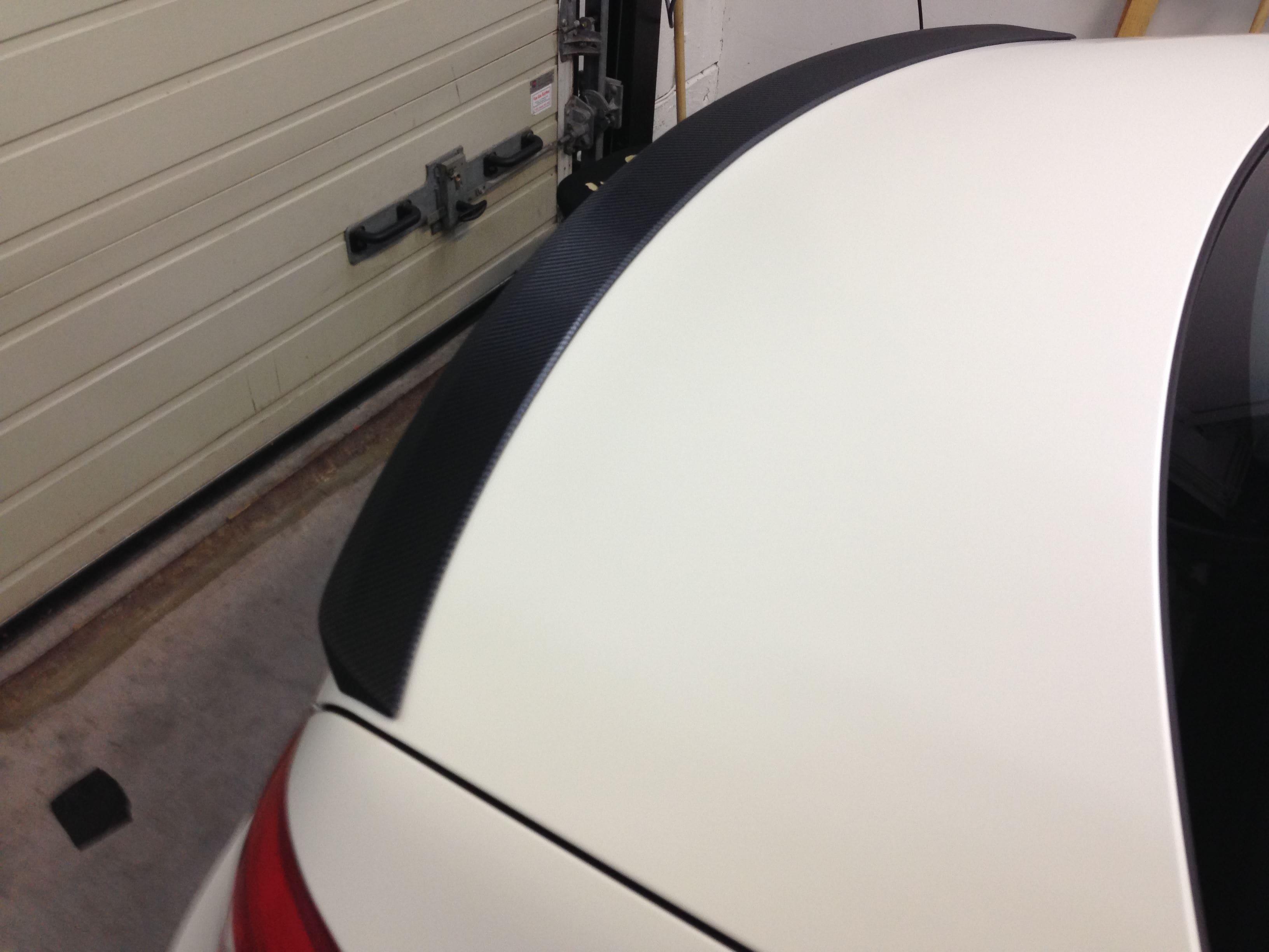 Mercedes CLS met White Satin Pearl Wrap, Carwrapping door Wrapmyride.nu Foto-nr:6191, ©2021