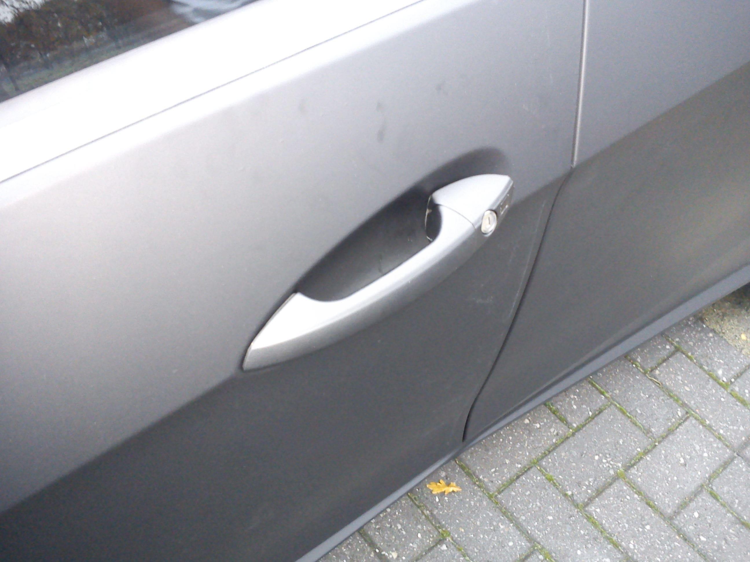 Mercedes E320 met Mat Zwarte Wrap, Carwrapping door Wrapmyride.nu Foto-nr:6236, ©2020