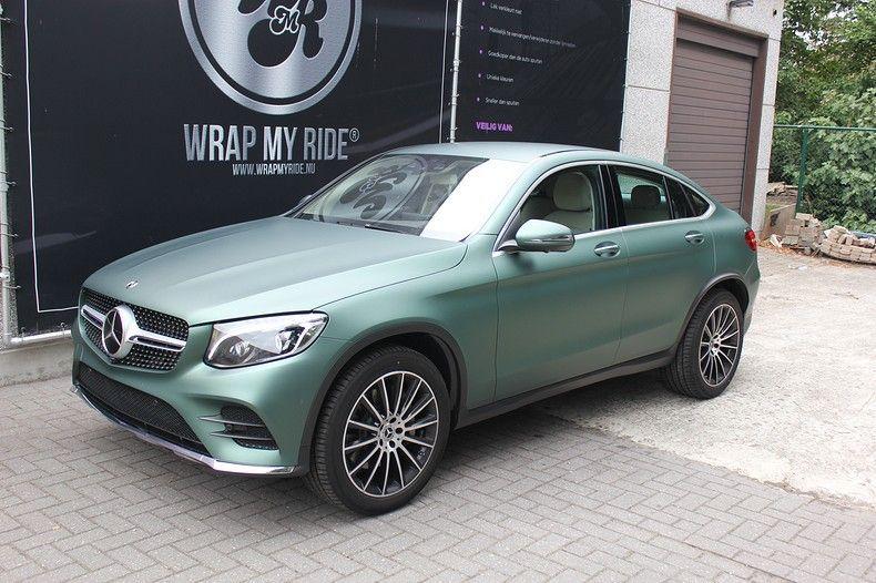 Mercedes GLC 3M Matte Pine Green, Carwrapping door Wrapmyride.nu Foto-nr:11832, ©2021