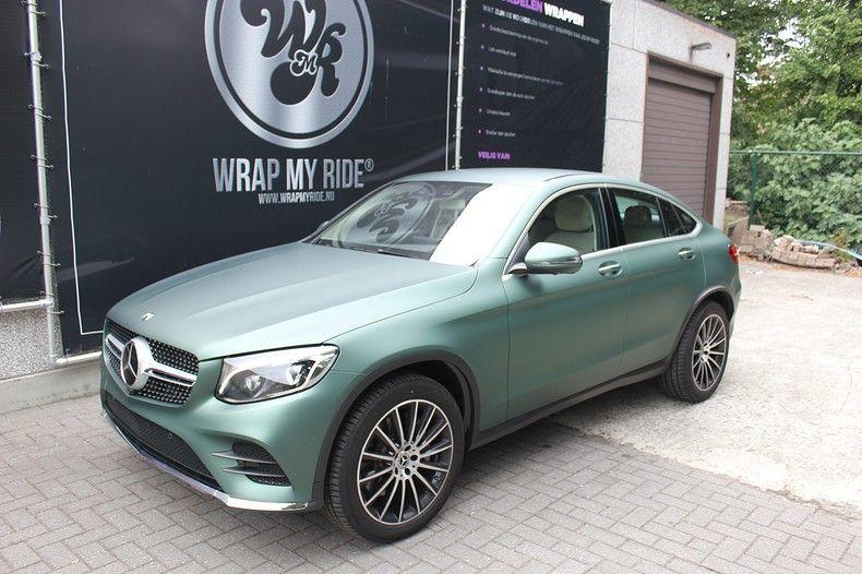 Mercedes GLC 3M Matte Pine Green, Carwrapping door Wrapmyride.nu Foto-nr:11833, ©2020