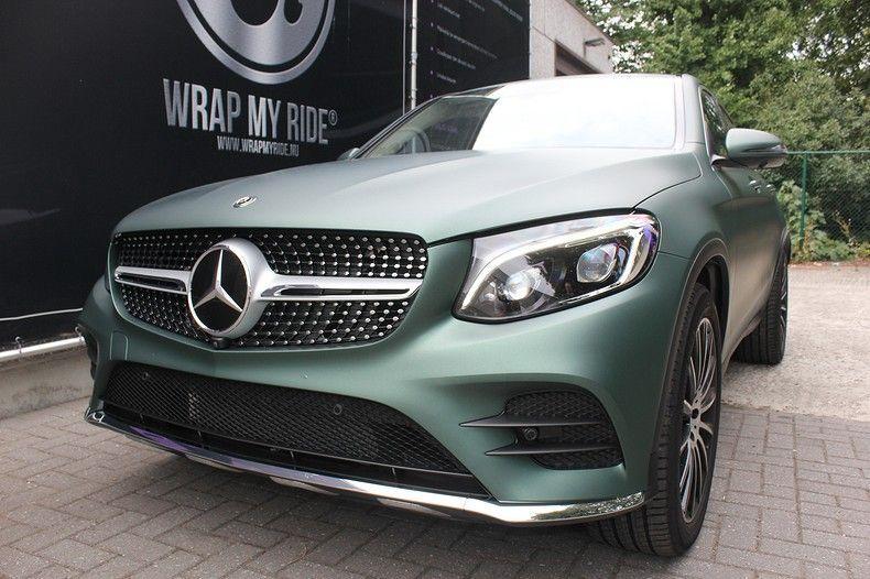 Mercedes GLC 3M Matte Pine Green, Carwrapping door Wrapmyride.nu Foto-nr:11835, ©2021