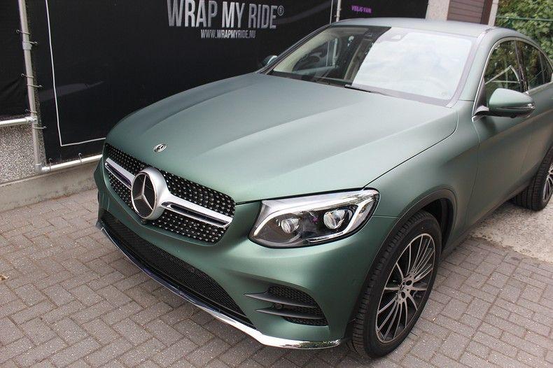 Mercedes GLC 3M Matte Pine Green, Carwrapping door Wrapmyride.nu Foto-nr:11843, ©2021