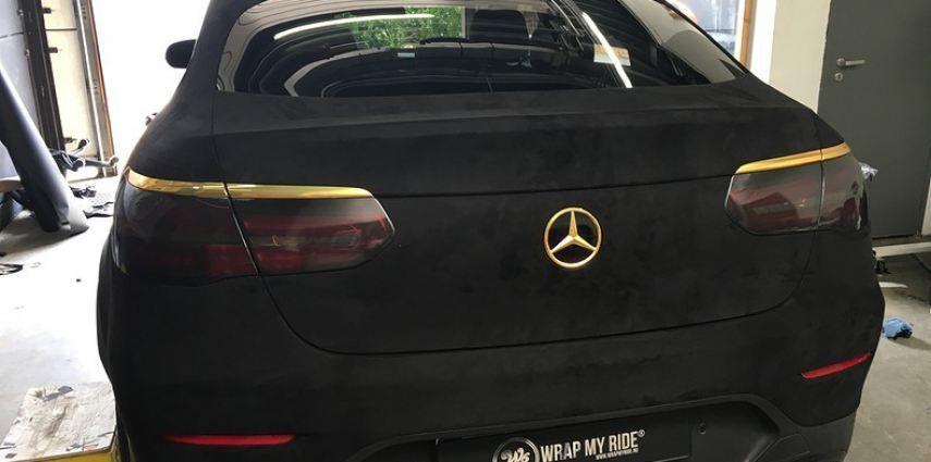 Mercedes GLC alcantara gold