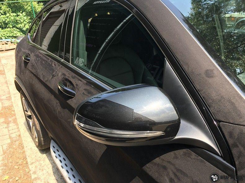 Mercedes GLC alcantara gold, Carwrapping door Wrapmyride.nu Foto-nr:11520, ©2018