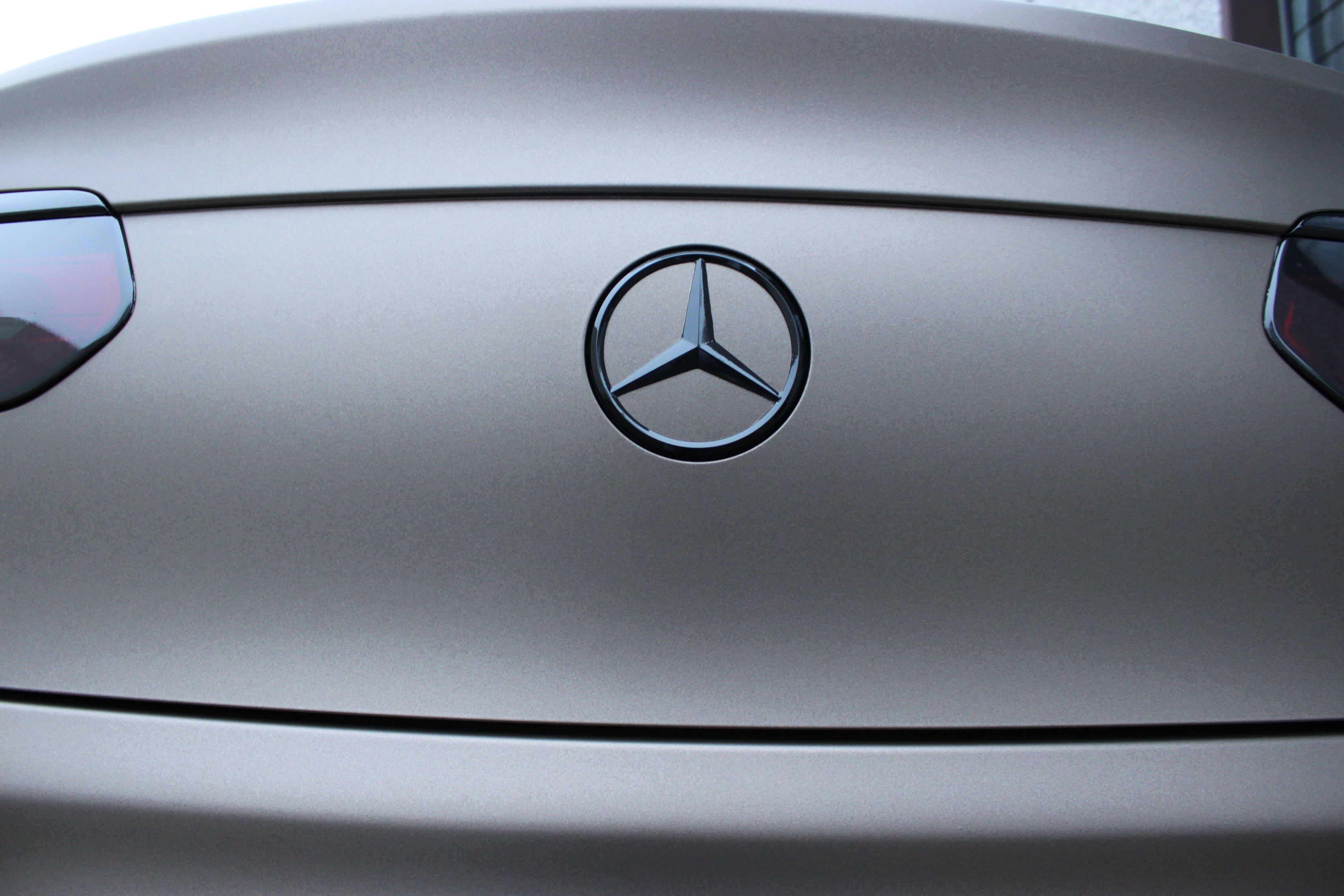 Mercedes GLC Coupe Matte metallic brown, Carwrapping door Wrapmyride.nu Foto-nr:9354, ©2021
