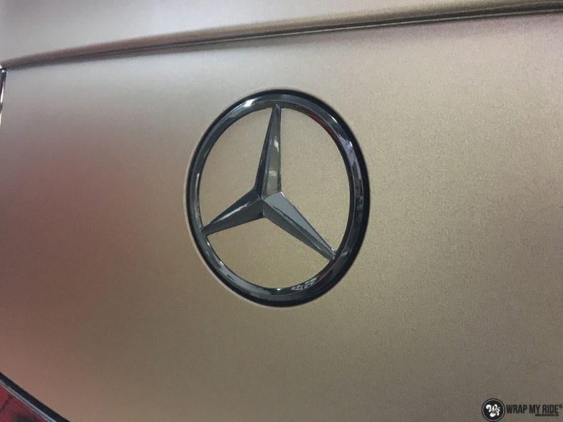 Mercedes GLC matte metallic brown, Carwrapping door Wrapmyride.nu Foto-nr:9557, ©2021