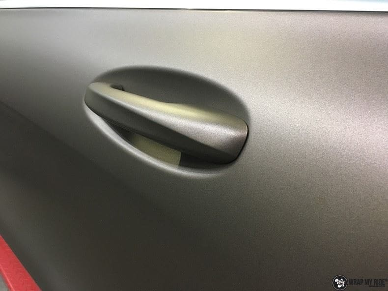 Mercedes GLC matte metallic brown, Carwrapping door Wrapmyride.nu Foto-nr:9566, ©2018