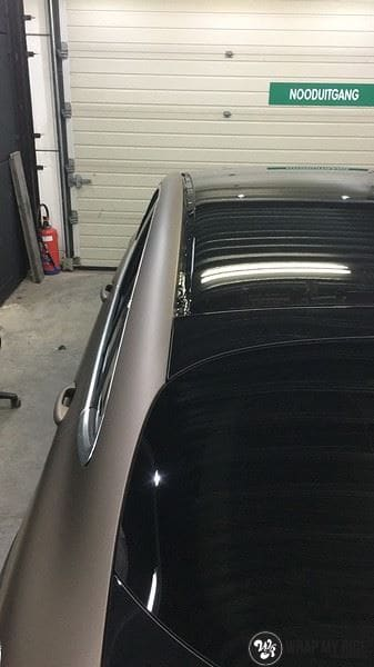Mercedes GLC matte metallic brown, Carwrapping door Wrapmyride.nu Foto-nr:9563, ©2021