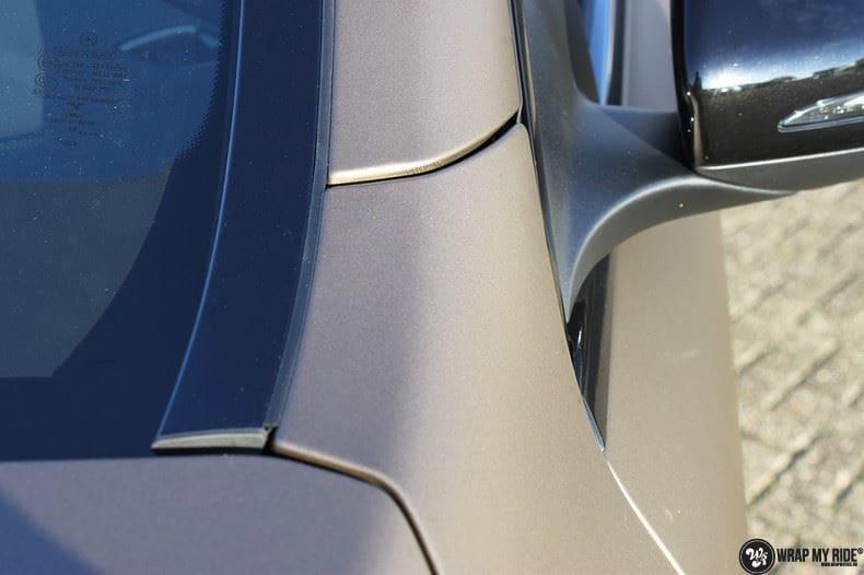 Mercedes GLC matte metallic brown, Carwrapping door Wrapmyride.nu Foto-nr:9517, ©2021